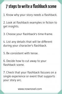How to Incorporate Flashbacks into a Story | Now Novel