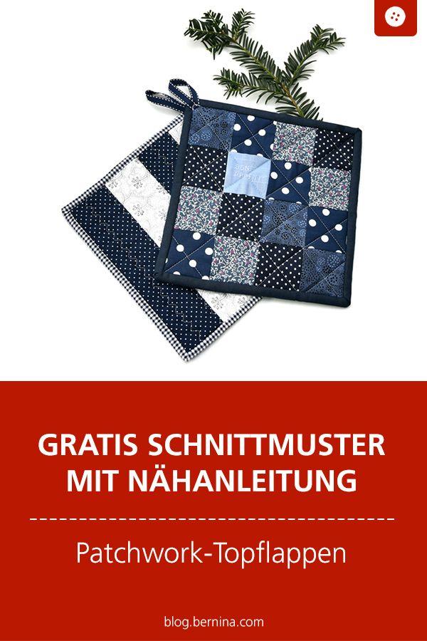 Photo of Nähanleitung: Topflappen im Patchwork-Stil