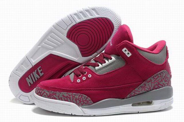 Air Jordan 3 Des Femmes De Blouse Blanche
