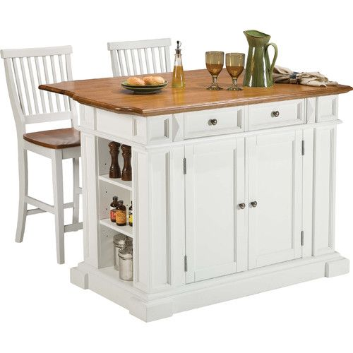 Mattice 3 Piece Kitchen Island Set Kitchens, Shelving ideas and House