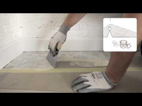Www Bing Com Videos Search Q Glue Down Lvp On Concrete