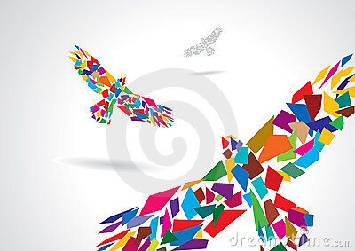 Afbeelding van http://thumbs.dreamstime.com/x/colorful-abstract-bird-flying-15469607.jpg.