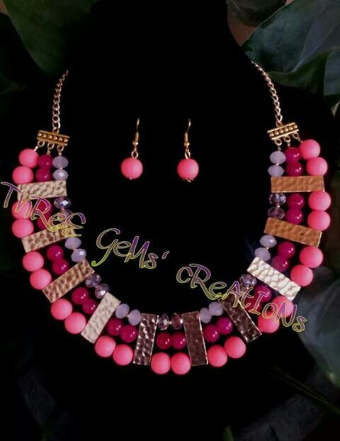 Handmade jewelry for sale Visit and like my page www.facebook.com/threegems889