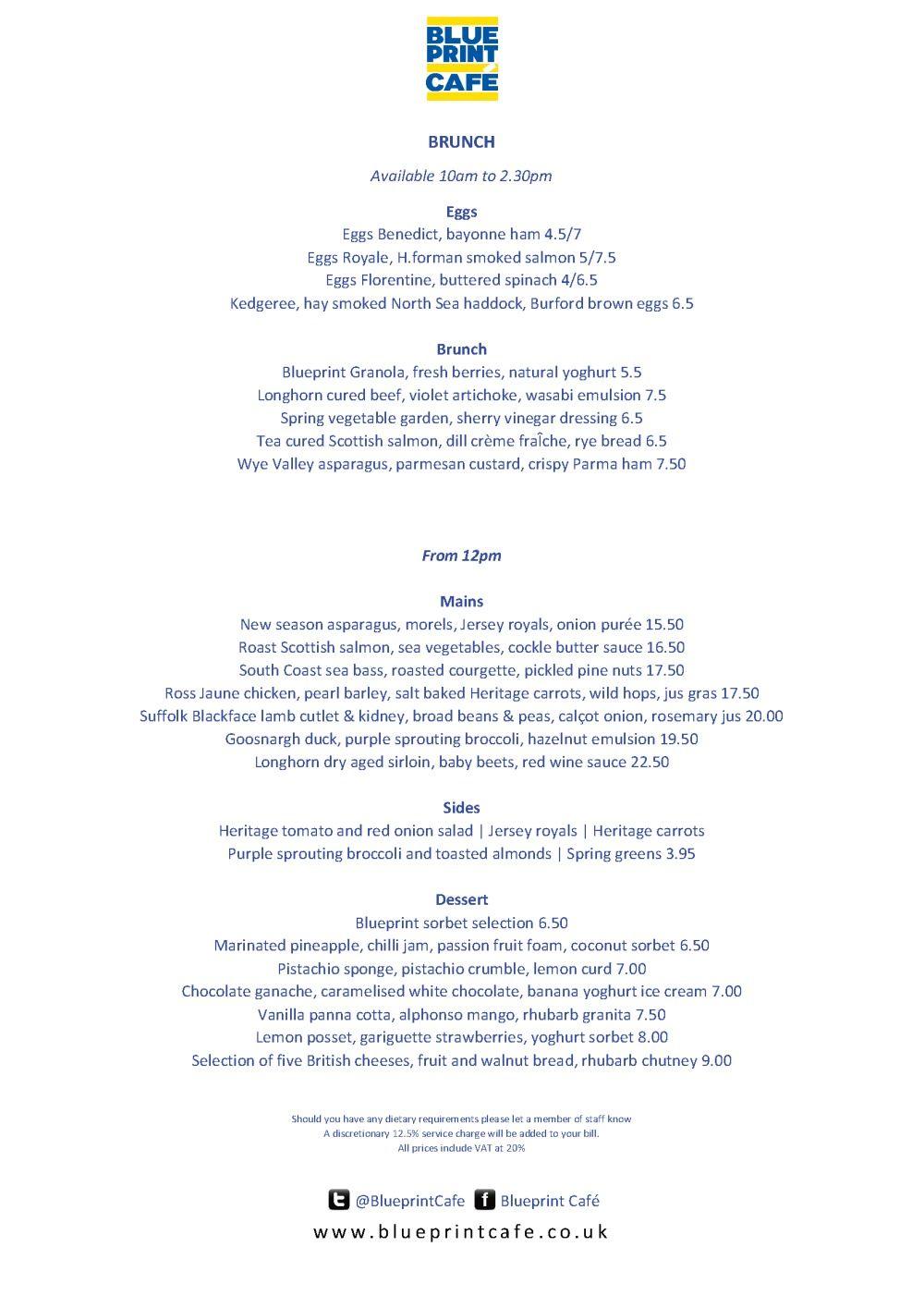 Saturday brunch menu blue print cafe ideas for brunch outings saturday brunch menu blue print cafe malvernweather Images
