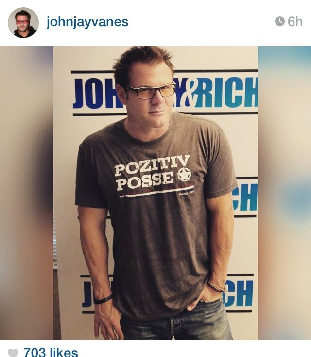 Johnjay Vanes From 104 7 Kiss Fm Sporting Compassion Beads And