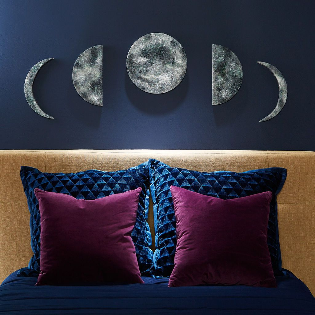 No one will know that these phases of the moon diy wall art start