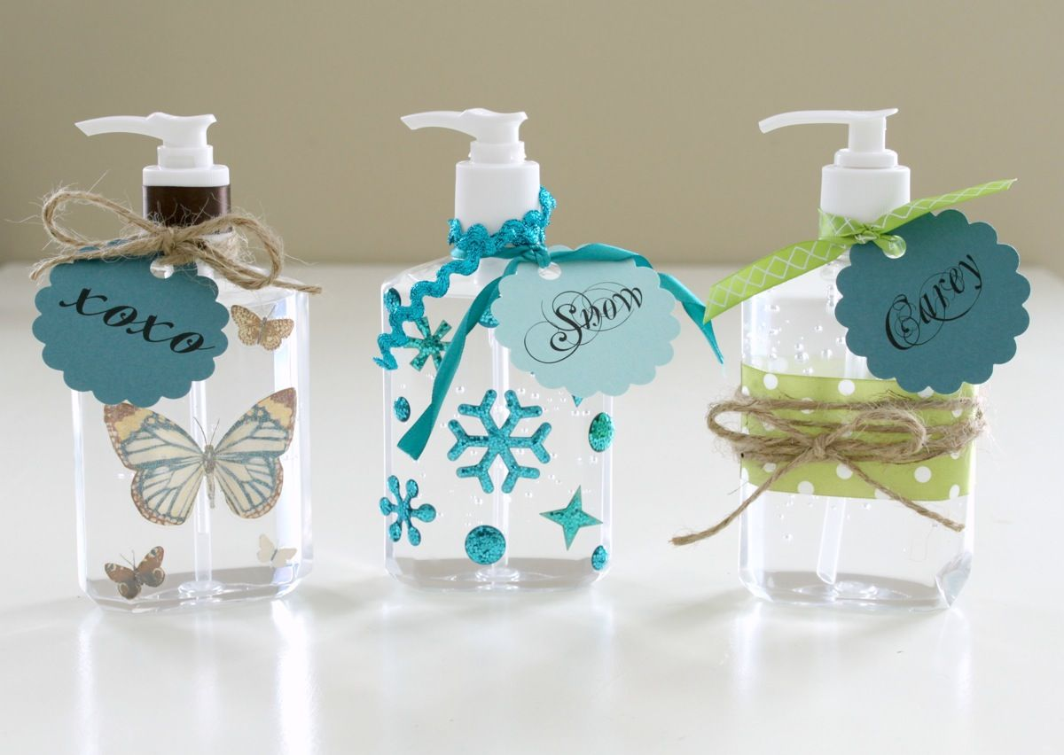 Sanitizer Gifts Except I Will Use Another Product To Decorate