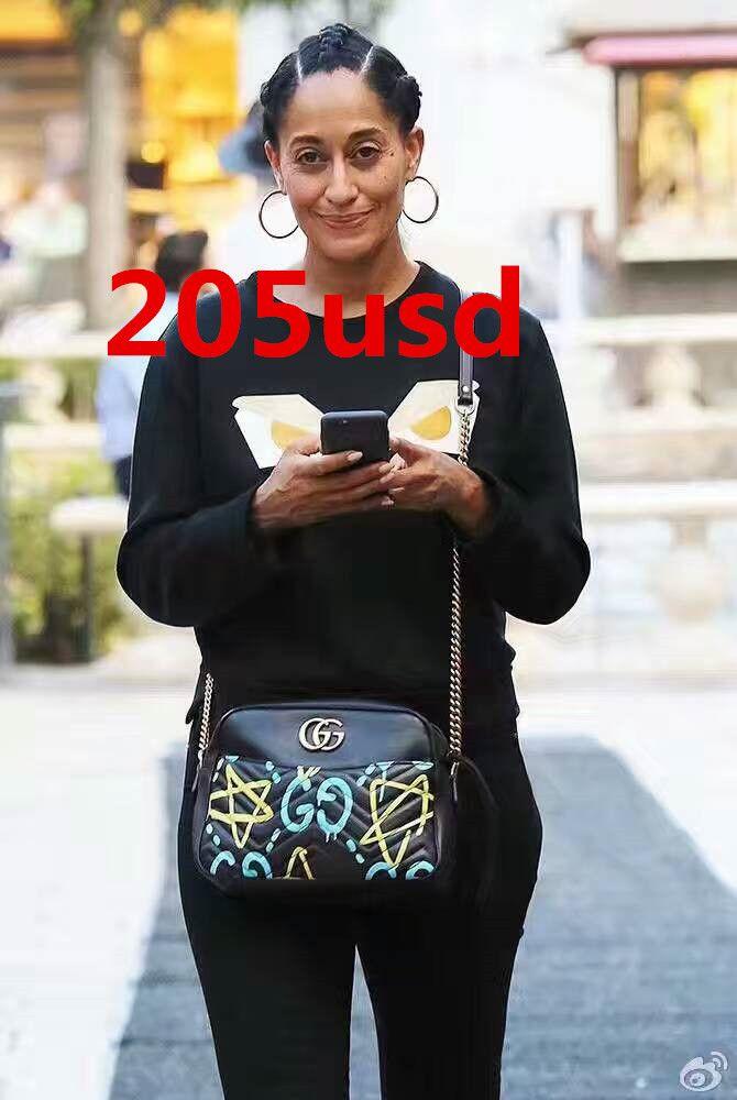 f0e84289 GG Marmont GucciGhost shoulder bag 443499 size:27x24x8cm 0680G3  whatsapp:+8615503787453