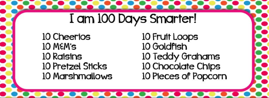 Happy 100th Day of School! | Creative Tots