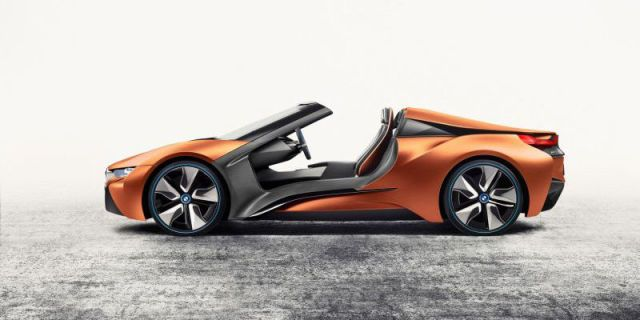 This Bmw Concept Has No Doors No Roof And A Huge Gesture Controlled Screen Bmw I Bmw Concept Car Bmw Concept