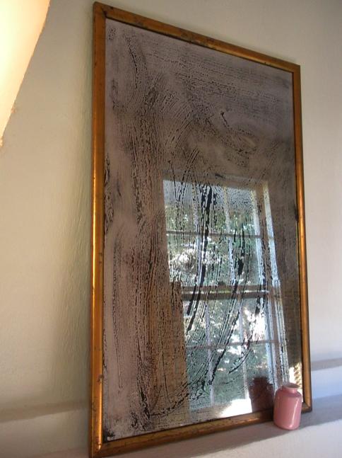 Antique Patina Mirror Solution Craft Diy Mirror