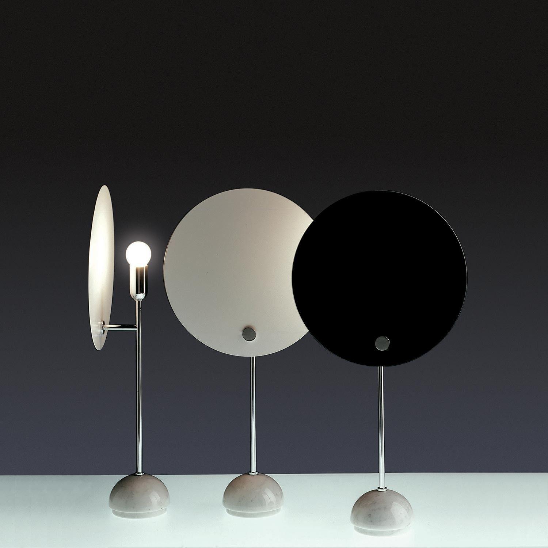 Kuta Table Table And Wall Lamp With A Circular Reflector