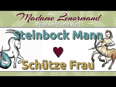 Schützefrau Und Steinbockmann