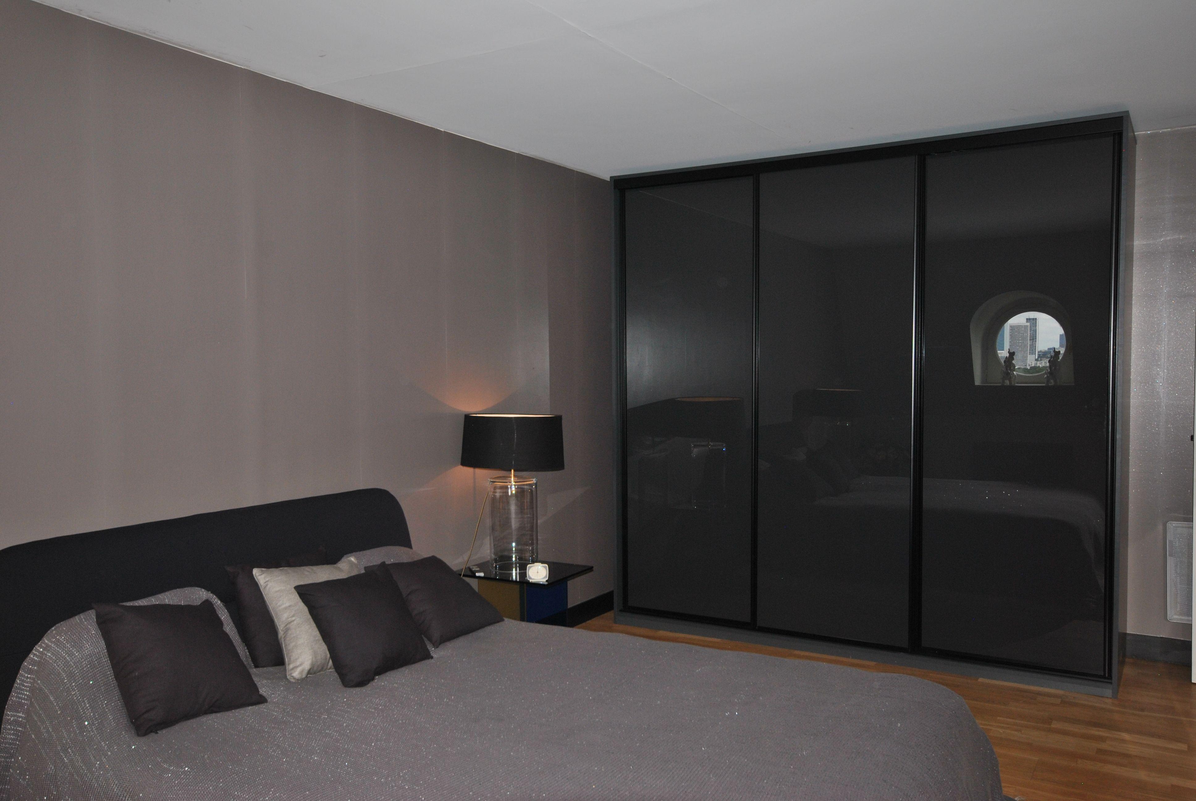 Dressing Sur Mesure Paris dressing gris anthracite et noir. sur mesure. paris