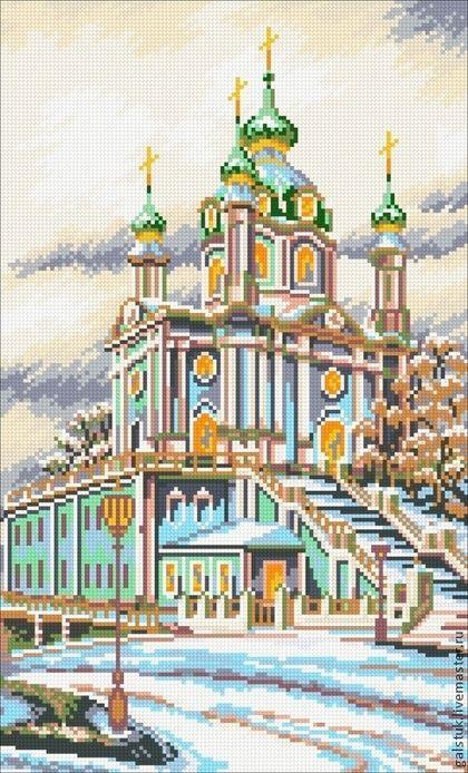 Вышивки из бисера схемы церковь
