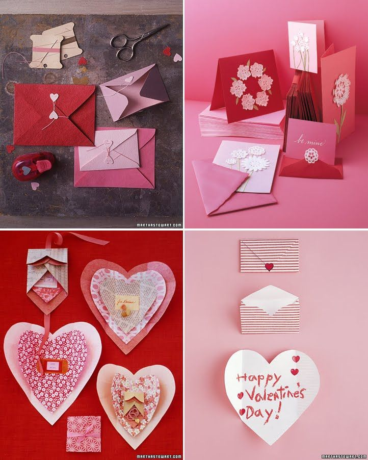 valentines day crafts  heart shape and with red color animal