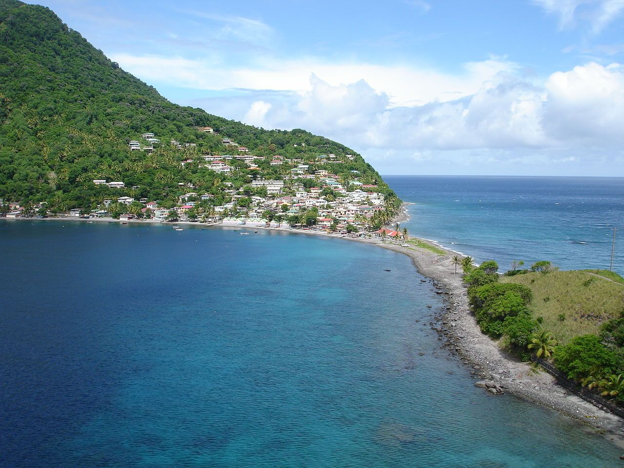 Soufriere Bay St Lucia Caribbean Islands Beautiful Islands The Great Outdoors
