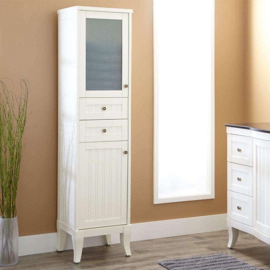 Bathroom Bathroom Linen Cabinets With Decorative Plant And Ceramic ...