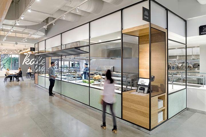 commercial interiors ebay office cafeteria by gensler san jose california retail design blog - Commercial Interior Design Blog