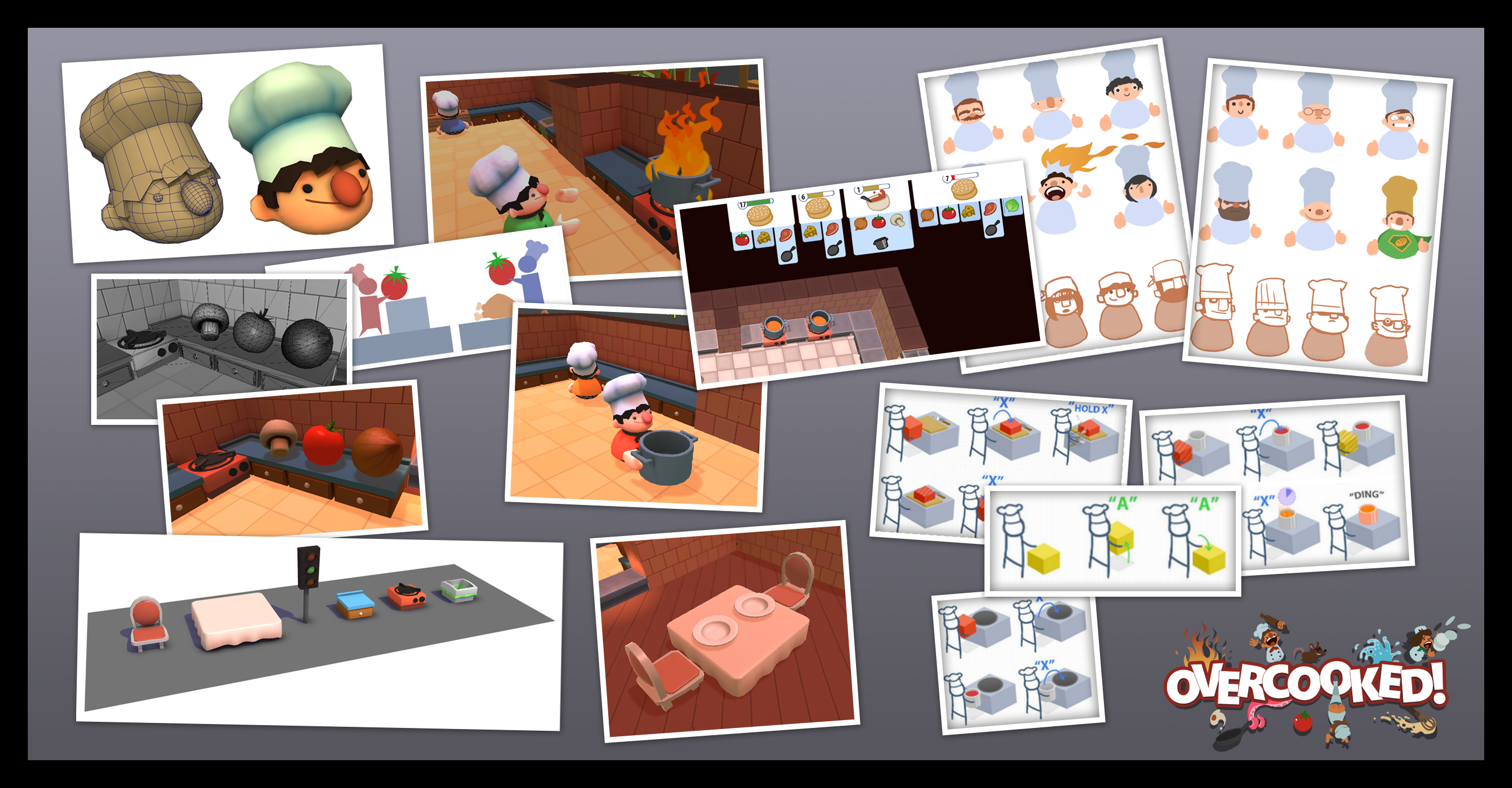 Overcooked Game Design References Pinterest Design