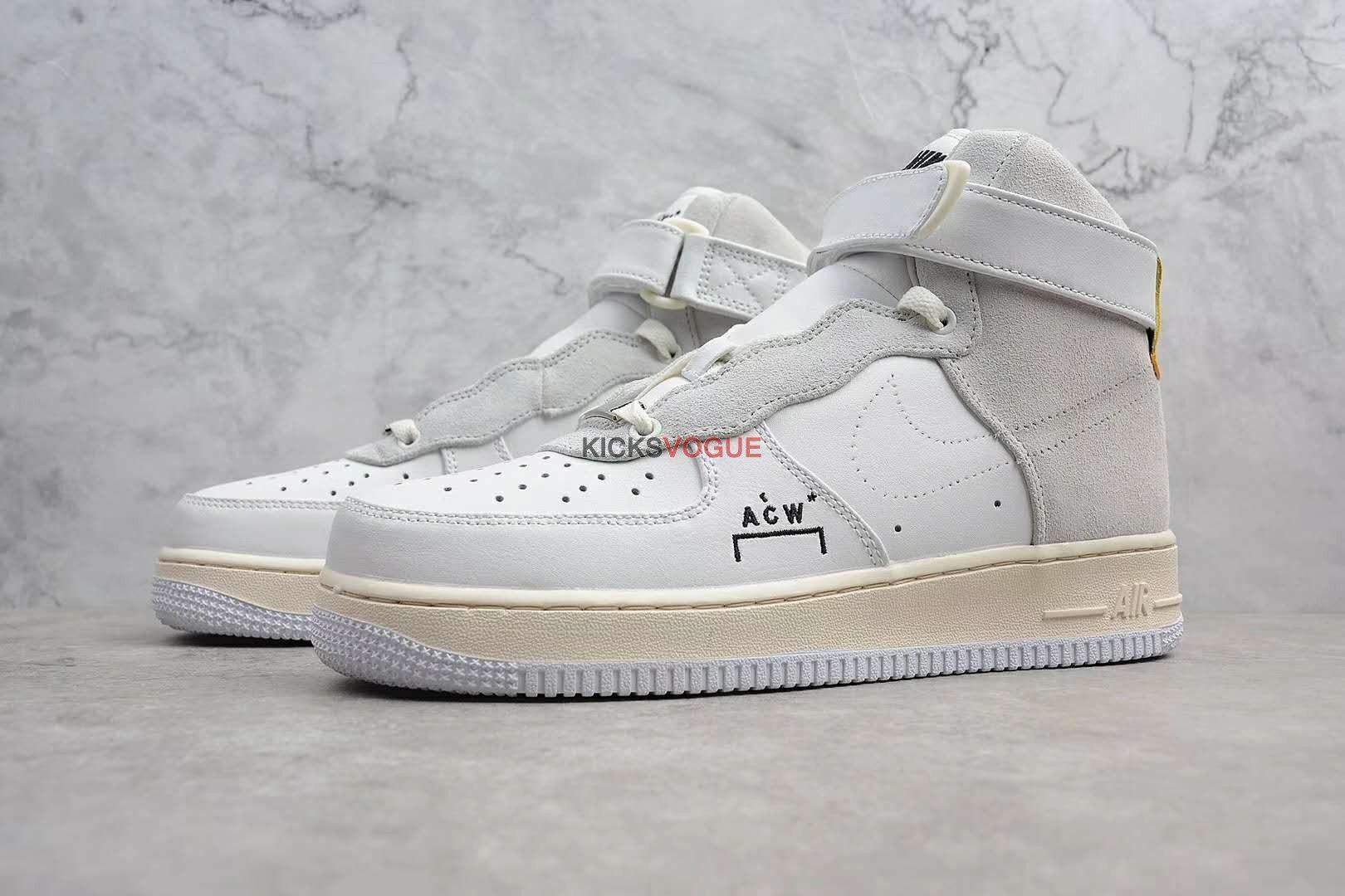 best sneakers ea8ec de237 A-COLD-WALL x Nike Air Force 1 High AQ5644-991