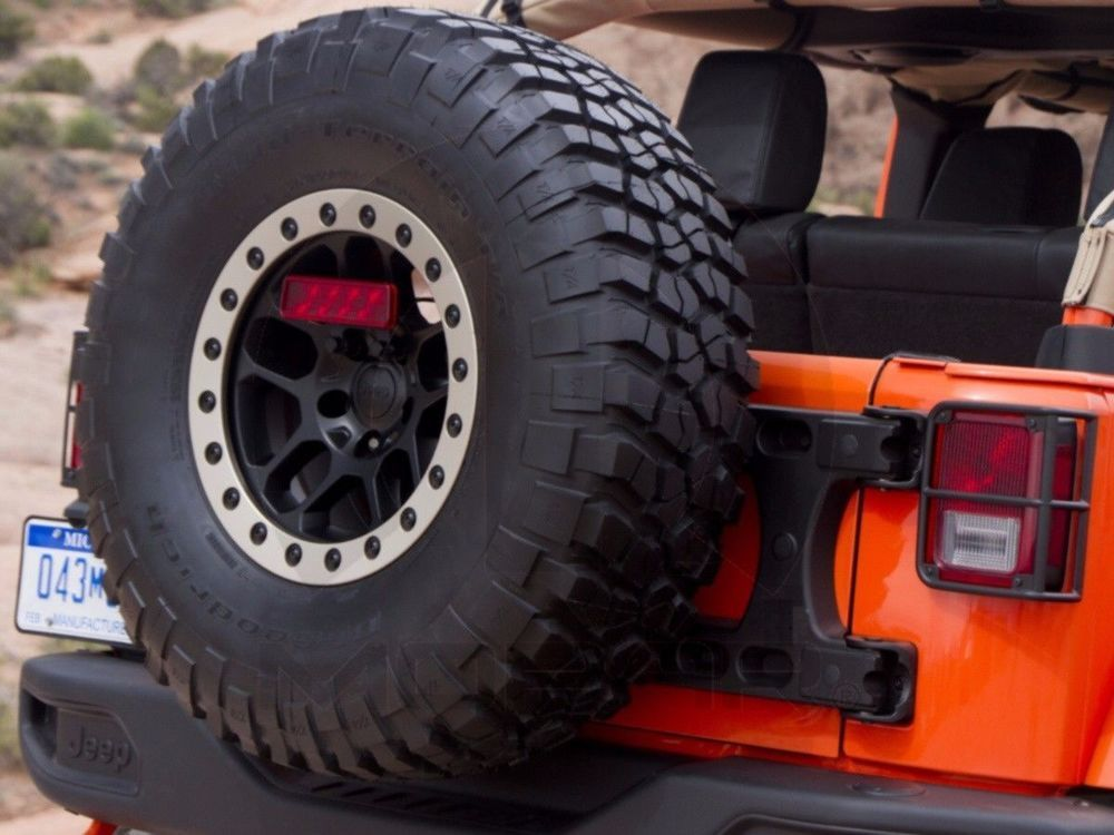 Brand New Genuine Oem Mopar Outside Spare Tire Carrier 07 16