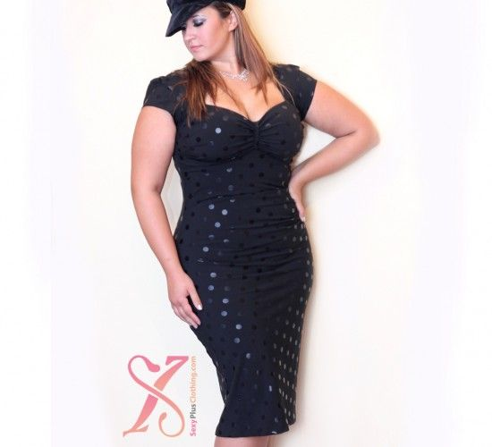 Stop Staring Designer Series Vegas Plus Size Dress Curvy Women