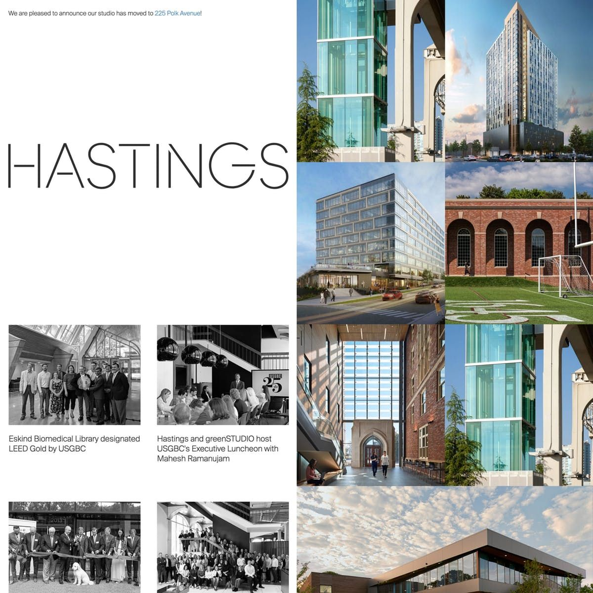 Hastings Architecture Architecture Web Layout Design Layout Design