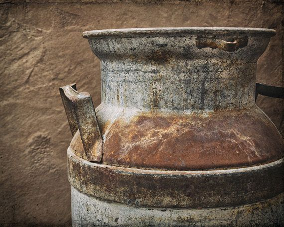 Rustic Photography Kitchen Print Farmhouse Decor Rusty by AgedPage