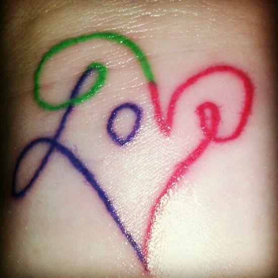 30 Best Love Tattoo Designs Tats Pinterest Tattoo Tattoo