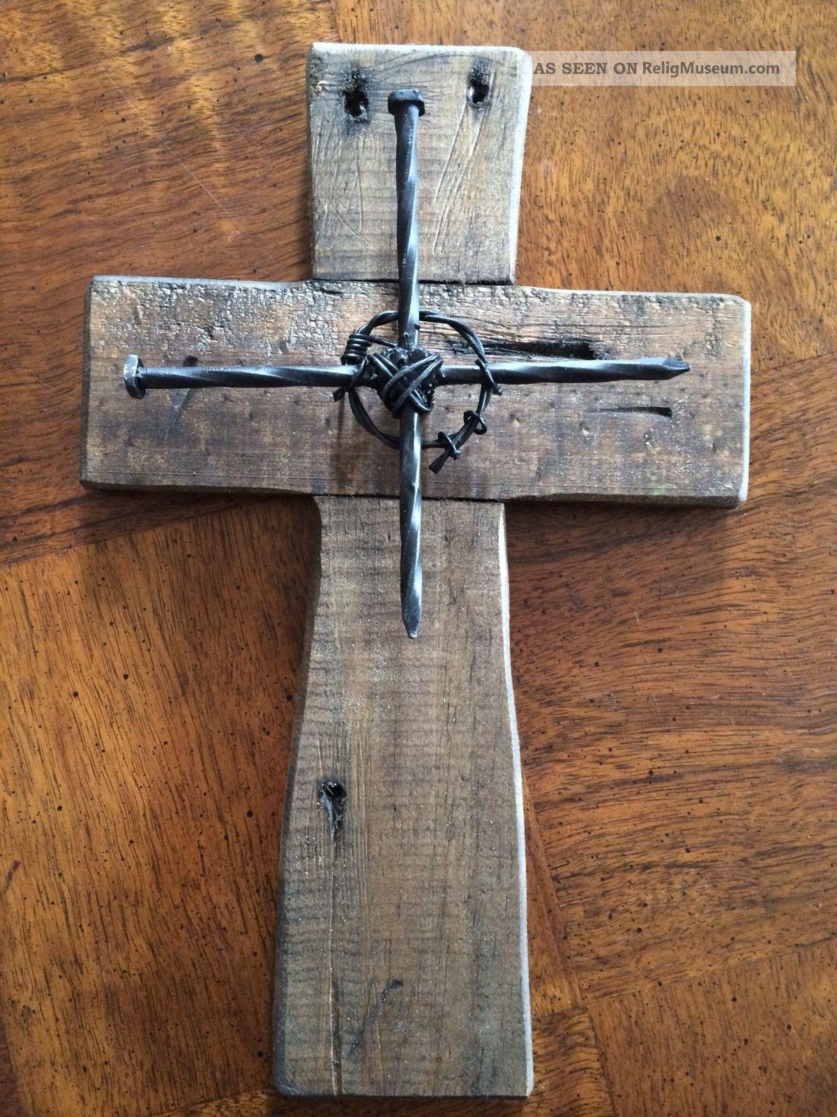 Decorative Wall Cross wall cross - wood cross - medium - *new* offset crosses in