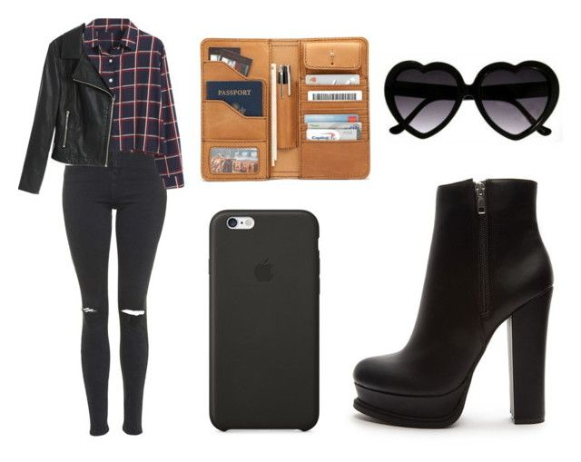 """""""Sin título #962"""" by immoverthemoon on Polyvore featuring moda, Forever 21, Topshop, Chicnova Fashion y Black Apple"""