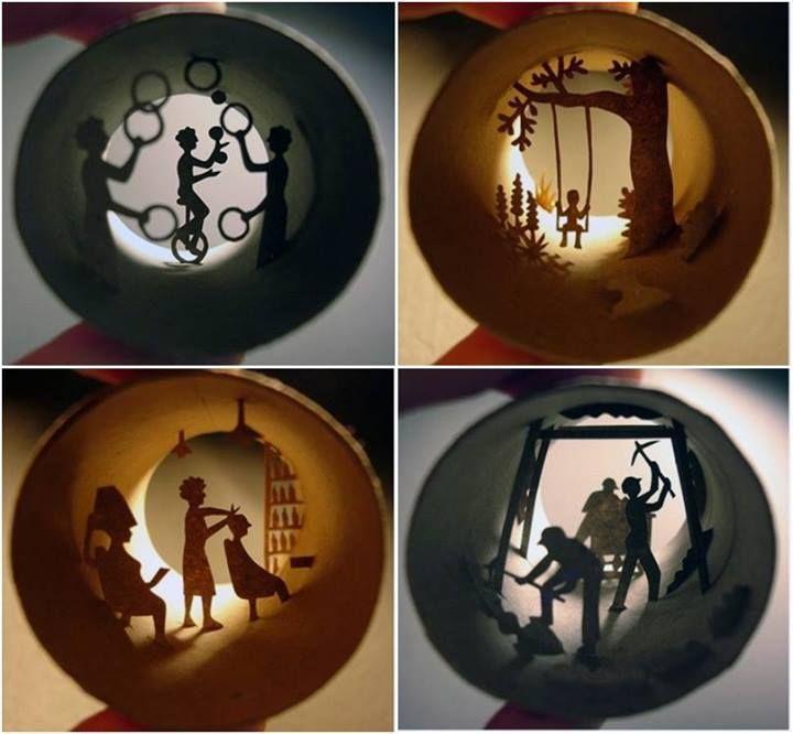 Da sessão criatividade sem fim..!  A artista francesa Anastassia Elias, utiliza os rolos de papel vazios para fazer esculturas dentro delas.  Uma arte mais legal e mais criativa que a outra. Confira mais: http://www.behance.net/gallery/Paper-cuts-Rolls/241623