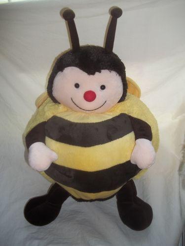 American Mills Stuffed Animal Plush Bumble Bee Yellow Black Big Fat