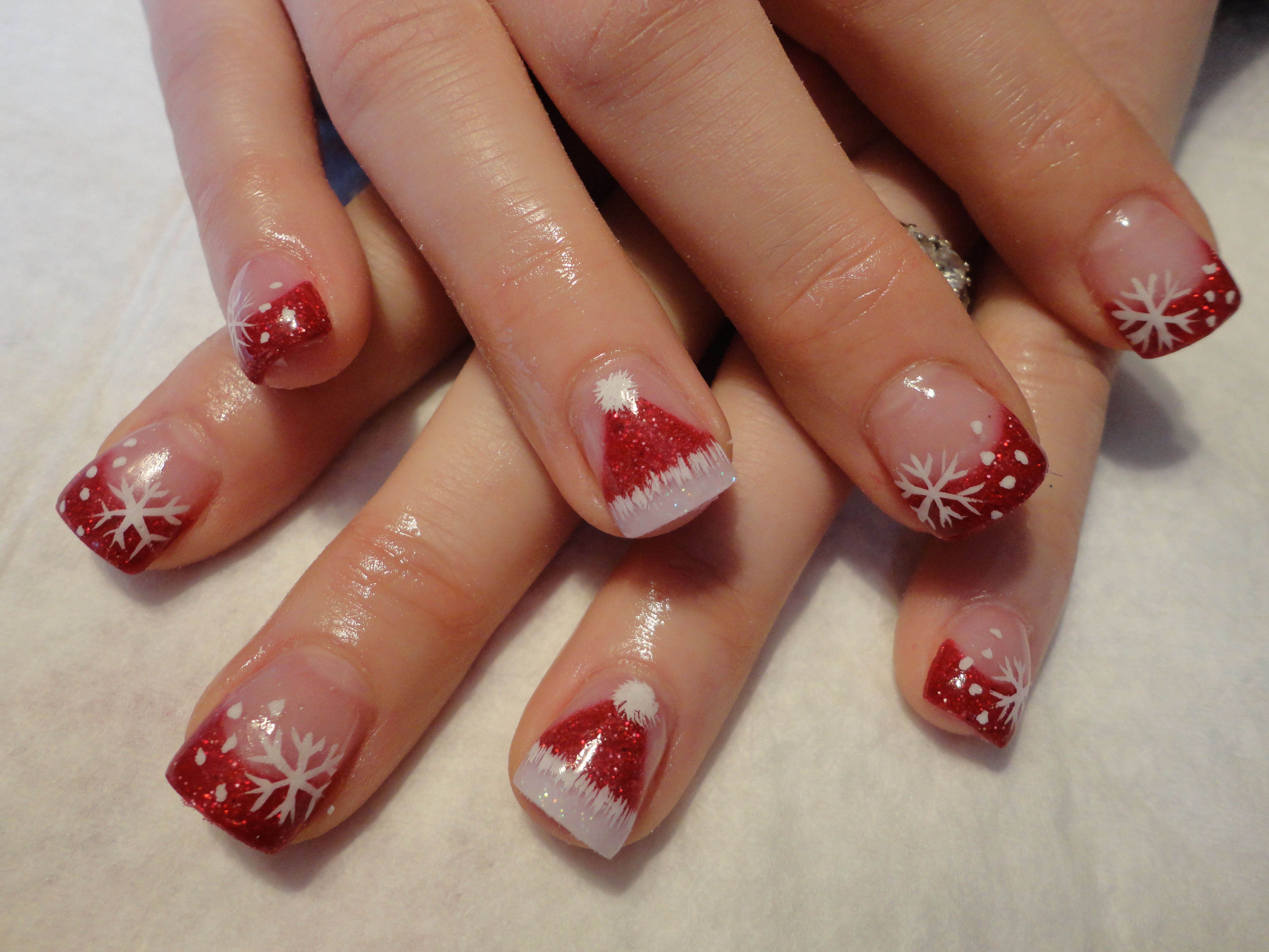 25 Christmas Nail Arts Design That You Will Love | Nail nail ...