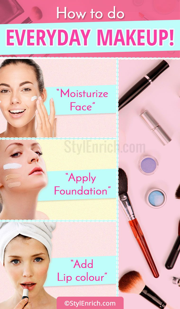 How To Do Everyday Makeup?  Everyday makeup, Beauty makeup tips