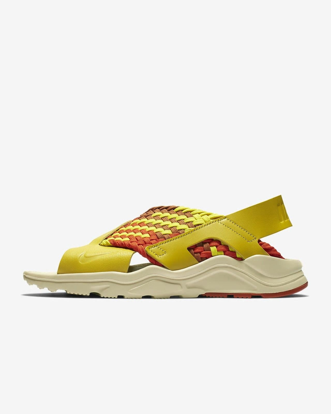 size 40 9ac9f 89fa1 Nike Air Huarache Ultra Bright Citron Campfire Orange Camper Green Monarch  Women  nike  nikeshoes  nikewomen  womenshoes