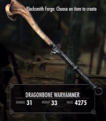 Skyrim Dragonbone Weapons Locations Accepted Dragonbone Mastery