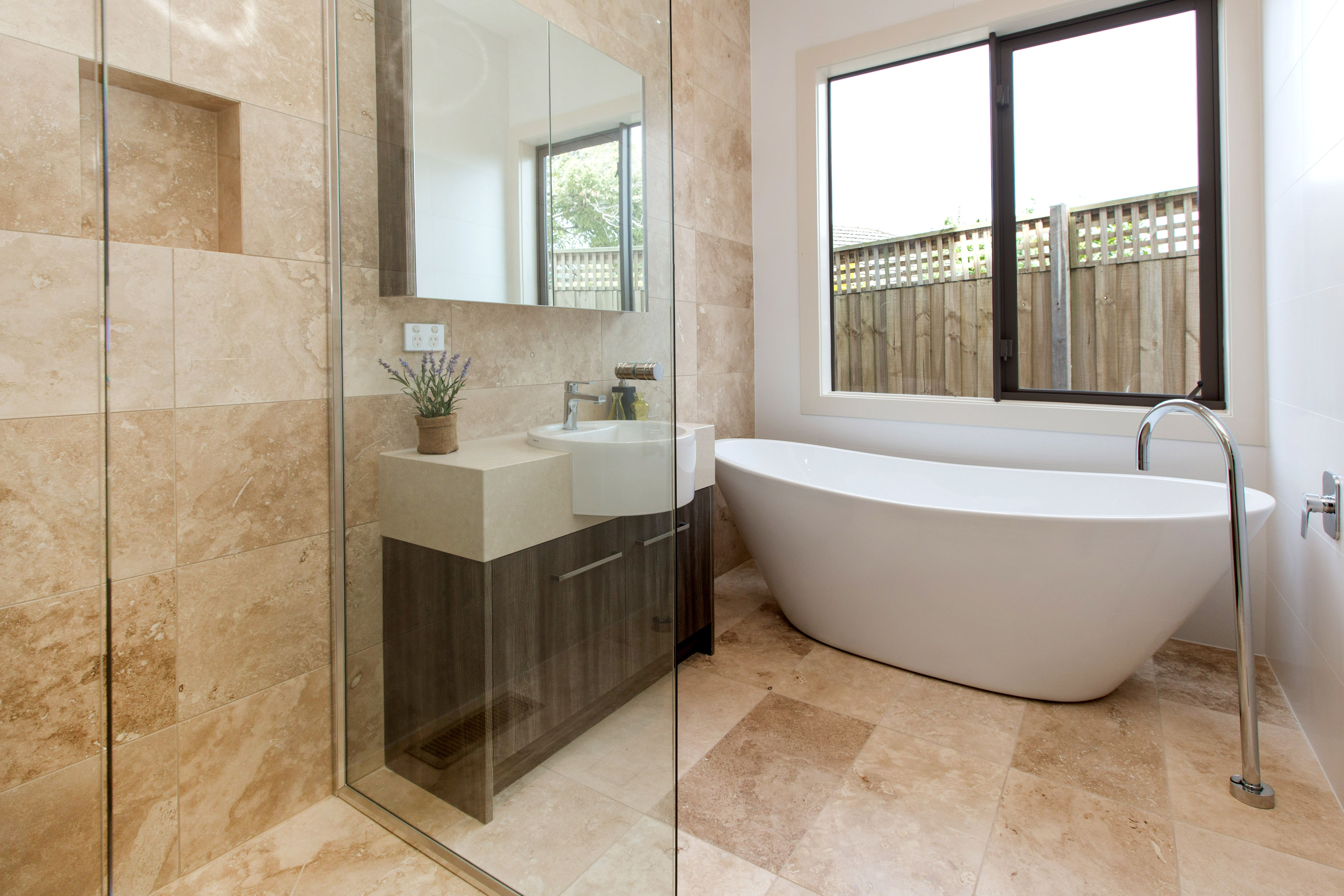 Downstairs bathroom pinterest white tiles and house stone floor but maybe white tiles dailygadgetfo Image collections
