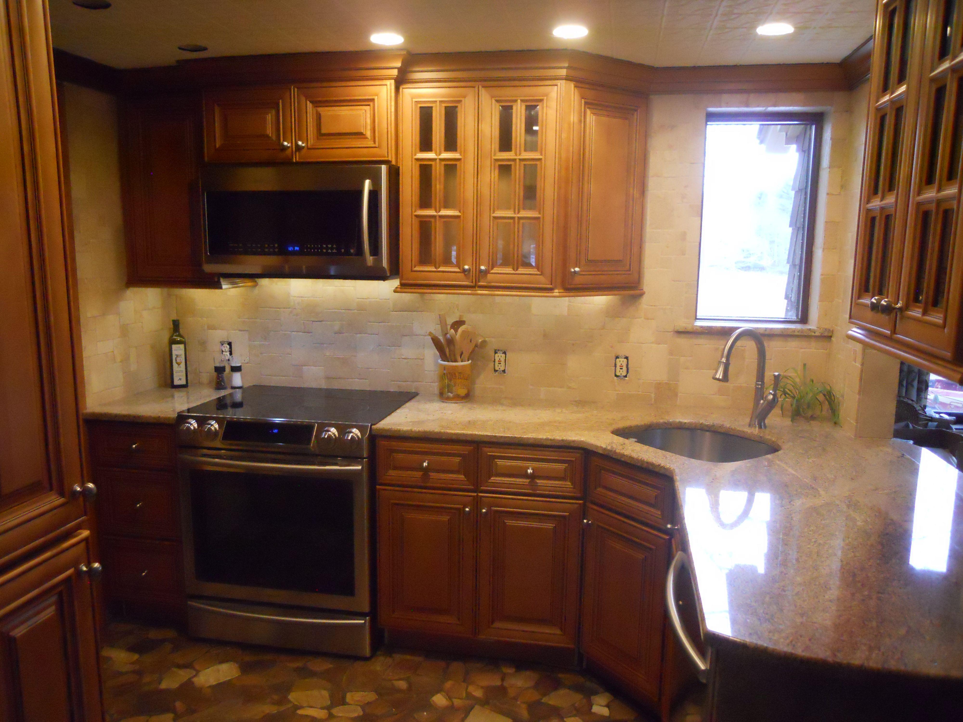 Charleston Toffee Small Kitchen Cabinets By Lily Ann Cabinets Kitchen Cabinets Small Kitchen Cabinets Kitchen