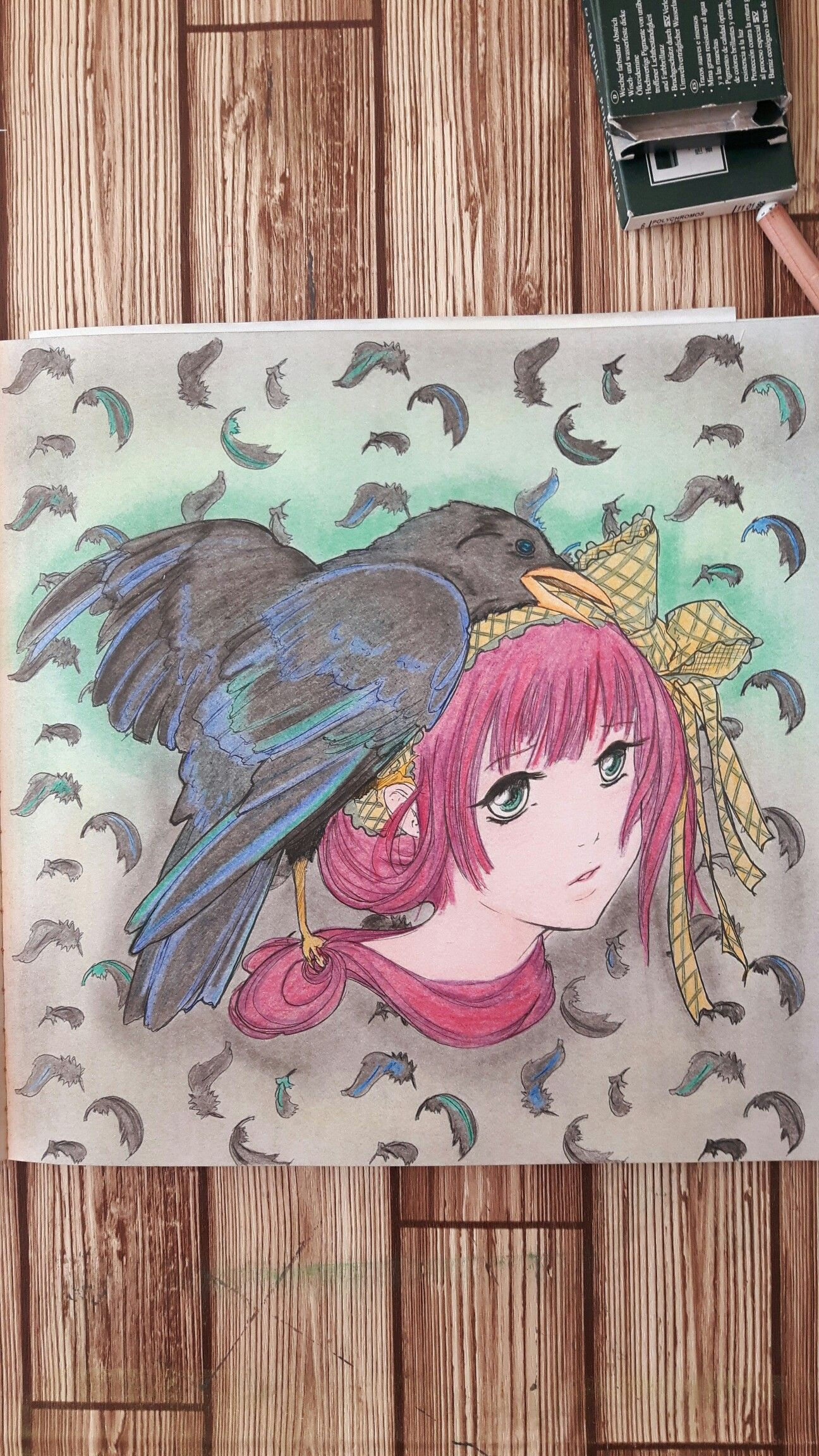 Pop-manga-coloring-book Colored by Carin Flipphi 20/7/16   pop magna ...