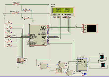 LCD display Using Proteus #project #student #education