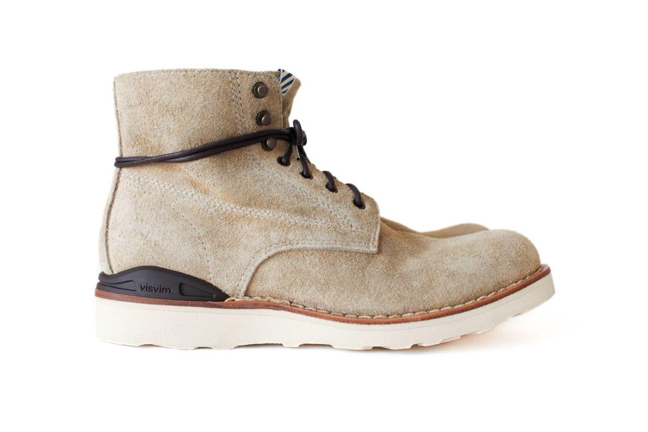 Virgil Suede Boots - TanVisvim j9x44E07N