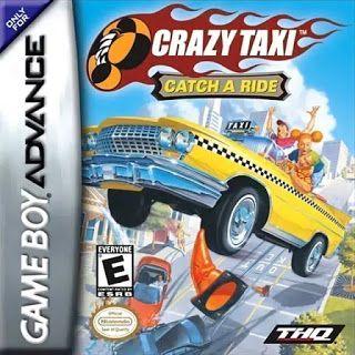 Crazy Taxi Catch A Ride Br Gba Com Imagens Game Boy