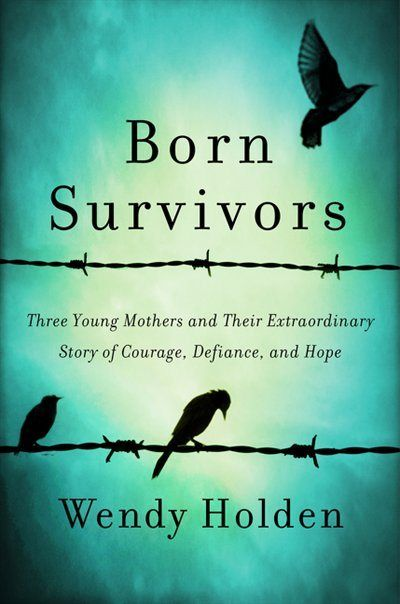 Holocaust survivors. Three young pregnant mothers, hiding their pregnancy amid unconceivable cruelty at Auschwitz and other   Nazi death camps. True story of the survival of these three babies born in the prison camps in 1944.