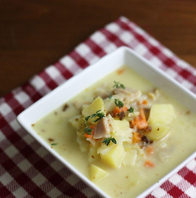 New England Clam Chowder {Glutenfree} Food, Clam