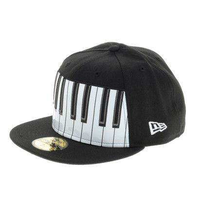 Piano keyboard New Era Cap    Caps    Piano, Cap, Music 818bdf8429a0