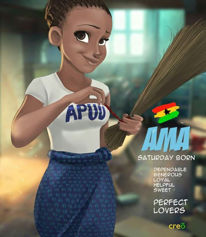 African Boy Names: #ghanaba#creo....Saturday's Child