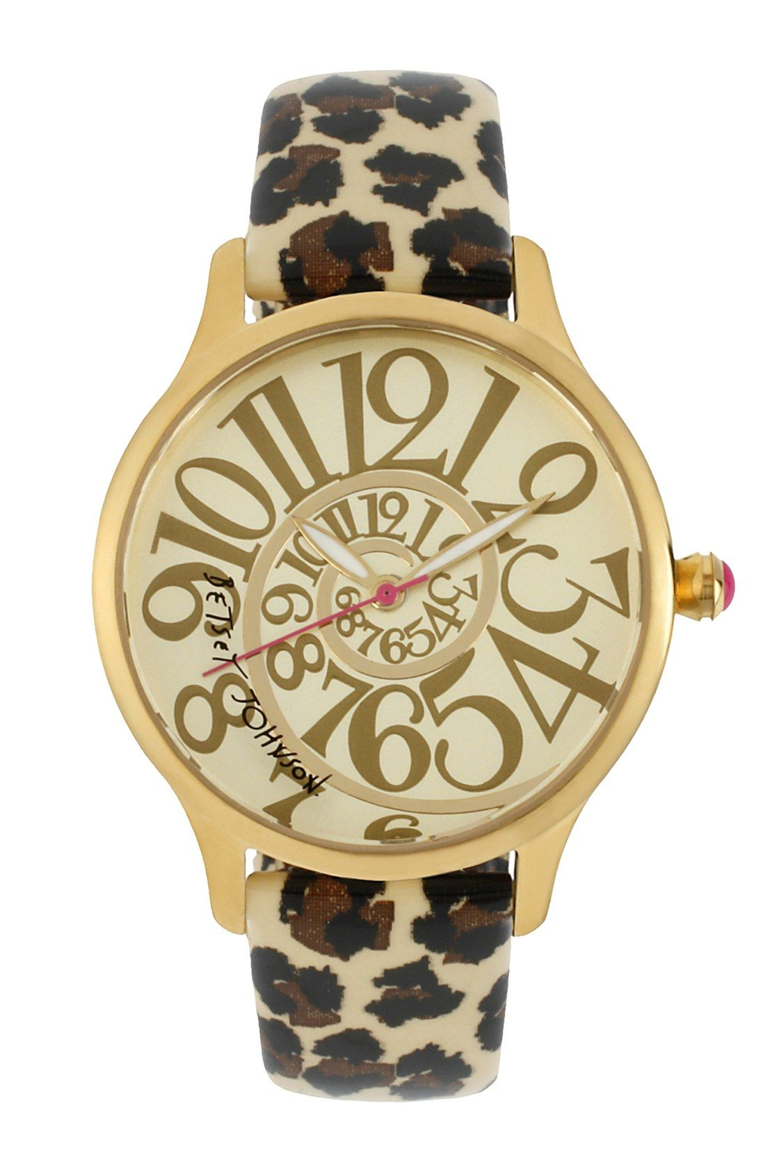 Betsey Johnson Watch -' Cool And Works Baby '