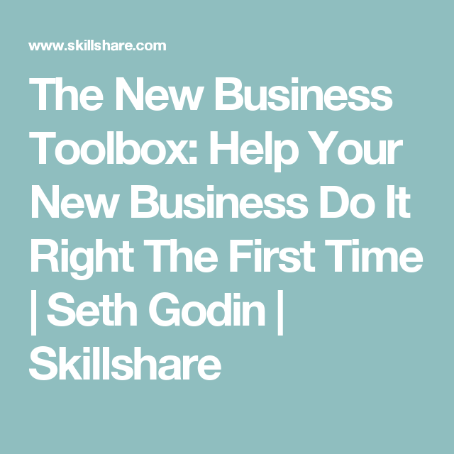 The New Business Toolbox: Help Your New Business Do It Right